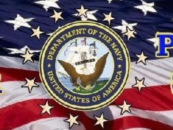 Navy Sailor Proudly Served rear window graphic