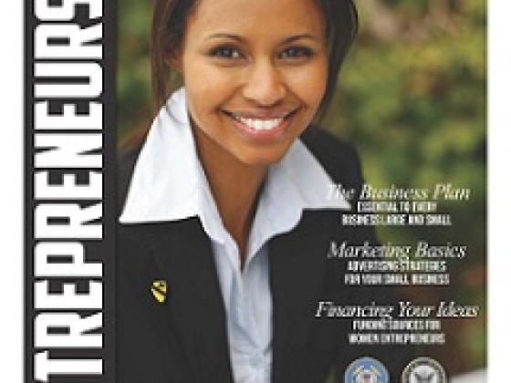 NVBDC uses the Women's Entreprenural Booklet at event